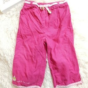 Gymboree girls pants Sz 12-18m pink cotton